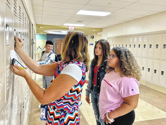 From finding their lockers, to learning (and relearning) how to use a combination lock, as well as an enhanced array of course offerings, these Blue Lions are ready for whatever their 6th-8th grade years will give them.