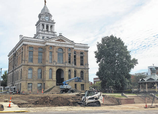 The demolition and clean-up of the former Fayette County Jail took just over a week. Next on the agenda for the site is to grade it and use top soil left over from a recent project at the Fayette County Airport.