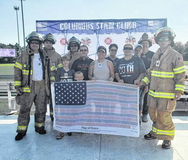 On Saturday, Sept. 11, Wayne Township Volunteer Fire Rescue and its team took part for the seventh year in the annual Columbus 9/11 Memorial Stair Climb and Walk.