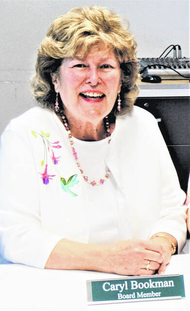 Caryl (Wagner) Bookman was an ideal representative of retired teachers, who typically spend a lot of time volunteering after retiring from the classroom.