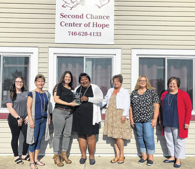 The Fayette County Chamber of Commerce recently named Second Chance Center of Hope as the September 2021 Business of the Month.