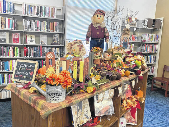 The Carnegie Public Library's Scarecrow Book Sale begins Monday.