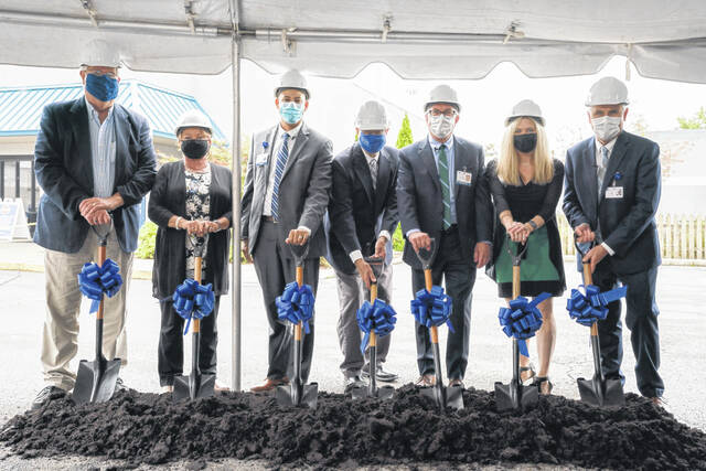 On Thursday, Adena Health System officials broke ground on a new 8,500-square-foot Medical Office Building at Adena Greenfield Medical Center (AGMC).