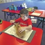 Grant putting pets in the classroom