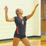 West sweeps in first match of season