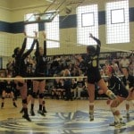 Notre Dame sweeps Clay