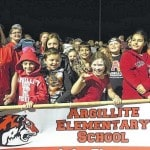 Greenup students honored for excellence, march across field to celebrate