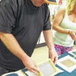 Locals learning the art of papermaking