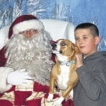 Santa meeting pets this weekend