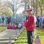 Veterans honored in Tracy Park