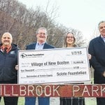Foundation contributes $10K to NB tennis courts