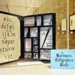 SSU Library is hosting Calligrapher's Guild art exhibit
