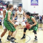 Titans fall to Indians, 54-44