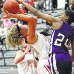 Lady Falcons top Panthers, 46-32