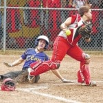 Clay Lady Panthers softball defeat Symmes Valley Lady Vikings, 11-5 to claim at least a share of the SOC I title