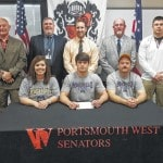 Portsmouth West football player John Berry signs with Morehead State University