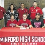 Kody Kennedy signs to play football with Muskingum University