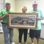 N & S Railroad picture donated
