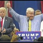 Trump brings Albrecht on at rally