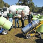 Arrick's Propane puts $18,000 grant to great use