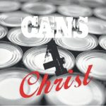 Cans for Christ, 69,688 canned goods to kids