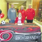 Willoughby signs to play soccer with Rio Grande
