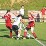 Lady Pirates pull away from Minford late, 2-0