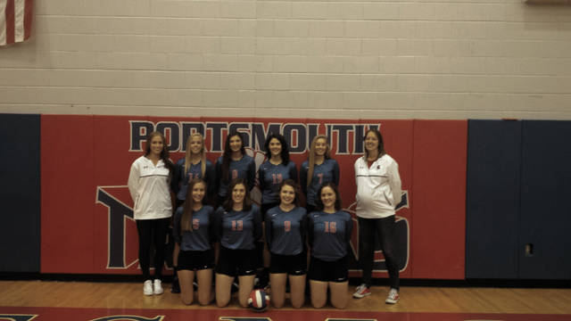 The 2017 Portsmouth Trojans' volleyball program.