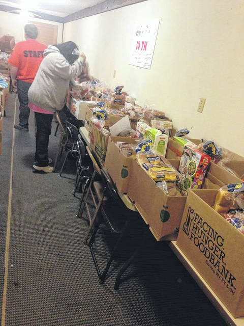 Sandhill IPCC has 150 Thanksgiving Day Boxes to donate to families in need.