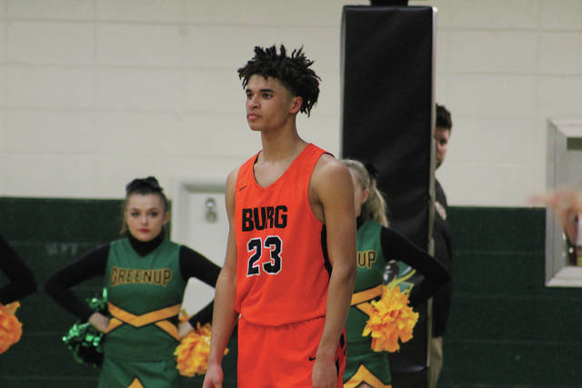 Wheelersburg's Tanner Holden put together a monster performance, obtaining 24 points and 25 rebounds against Greenup County (Ky.) on Monday evening.