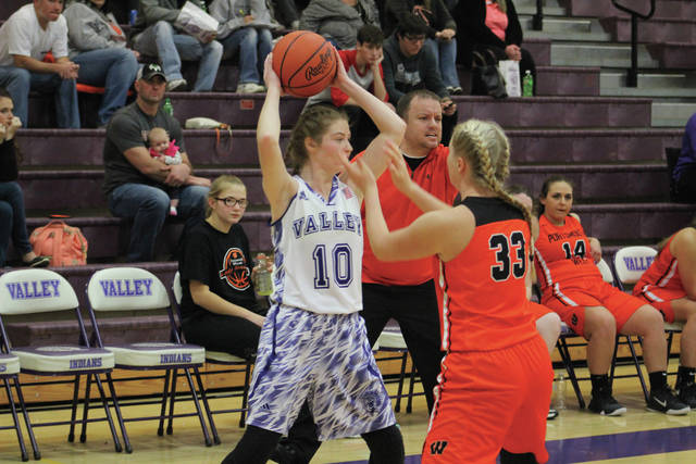 Valley's Bre Call has been strong throughout her sophomore campaign for the Lady Indians.