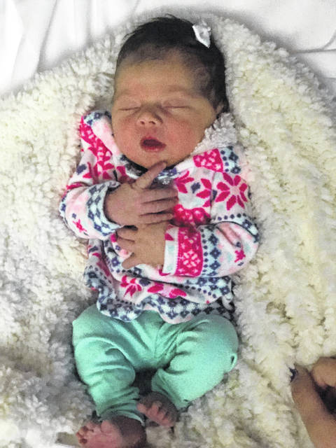 Zoewie Nakole Ridout first baby of 2018
