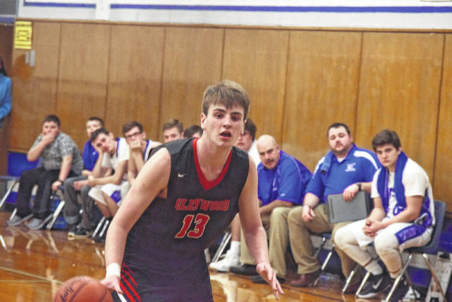 New Boston's Kyle Sexton obtained 13 points, 13 rebounds, and 11 blocks in the Tigers' 40-32 victory over Ironton St. Joseph on Tuesday evening.