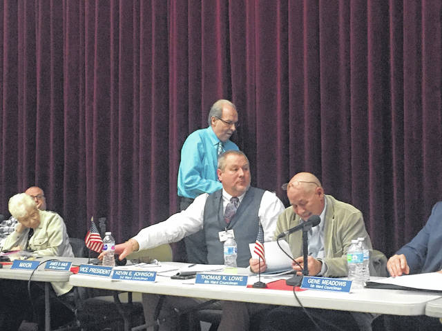 Kalb quit council Monday night during the meeting.