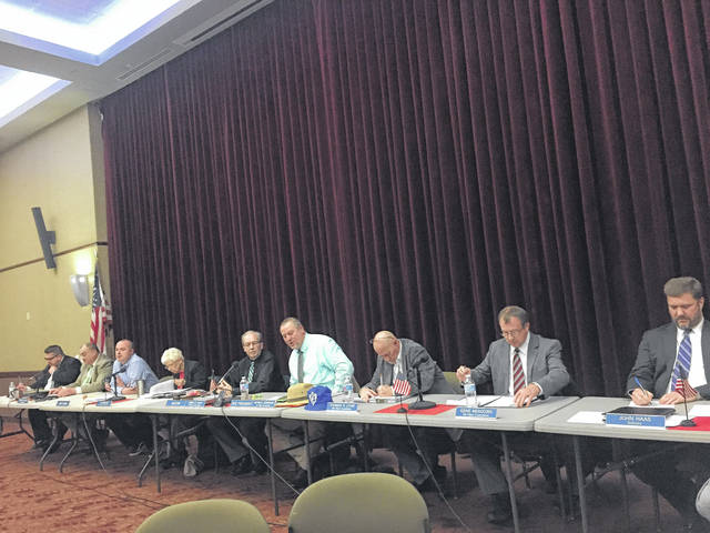 City Council met Monday evening at Shawnee State University's Sodexo Ballroom
