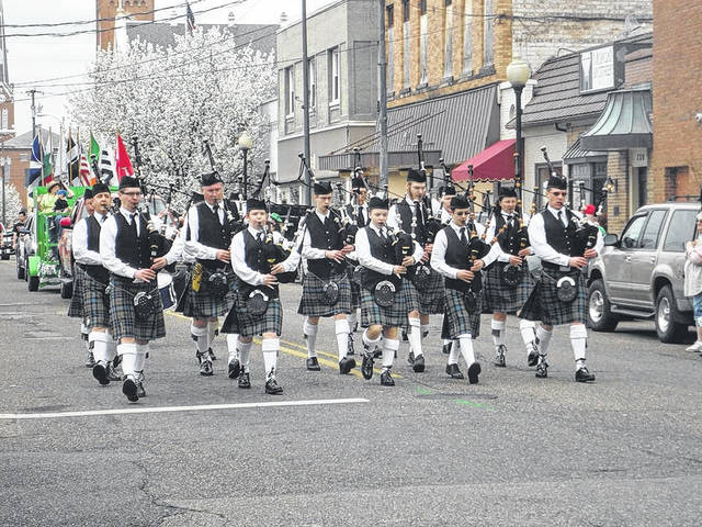 7 Nations Celtic Club of Southern Ohio in Portsmouth's St. Patrick's Day parade