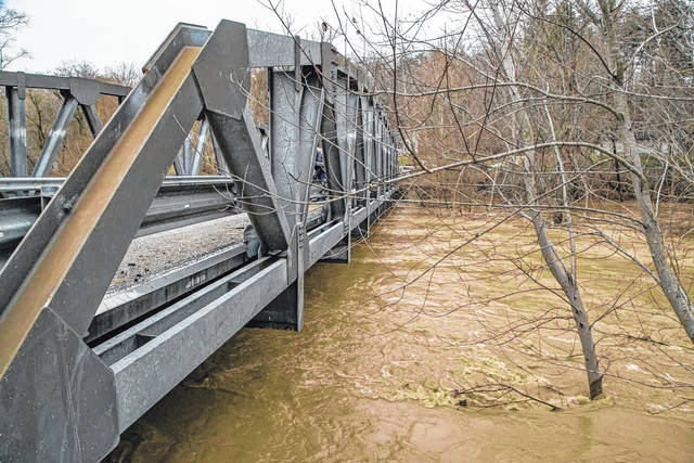 "According to the National Weather Service, ""the Ohio River is going to rise considerably"" due to this week's rains, but is not expected to exceed flood stage as it did in February."
