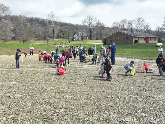 3,000 Easter eggs were hunted at Northwest Middle School.