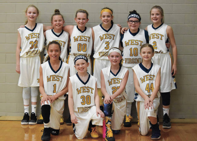 Sienna Allen (kneeling, far left) is a standout for the 2026 West Virginia Thunder on the travel ball scene. Allen is a Portsmouth native.