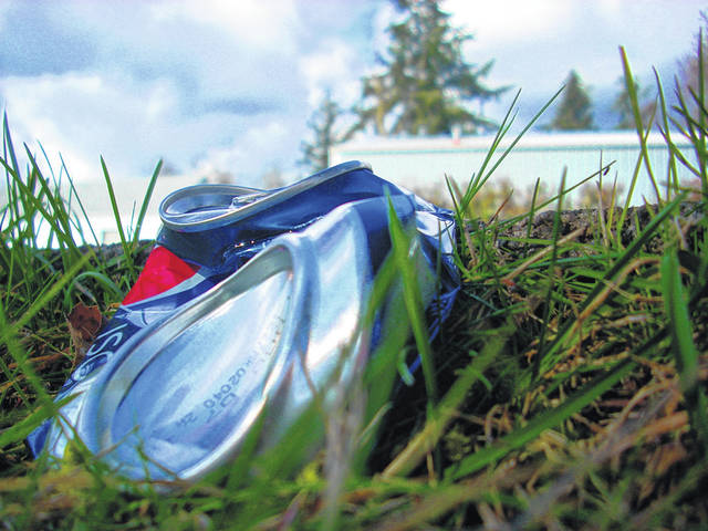 """Scioto County Commissioner Brian Davis says litter """"is a big hot-button issue right now."""""""