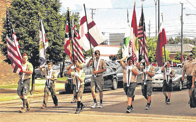 Plenty of red, white and blue is expected to be on display when the annual Memorial Day parade steps off May 28 from Tracy Park.