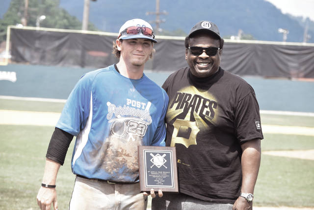 Post 23's Cole Dyer grabbed the Al Oliver Offensive Player Award by driving in seven RBI and batting .500 (6-for-12) in GBBC Tournament play.