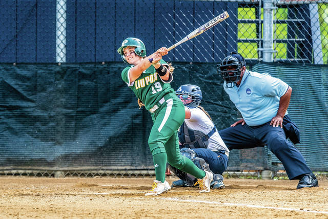 Wheelersburg graduate and current Long Island University-Post standout Bre Klaiber hit .383 this past season, posted an OPS of 1.018, played in and started all 57 games for LIU-Post in 2018, and led the team in doubles (16), walks (22), on-base percentage (.458) and defensive assists (155).