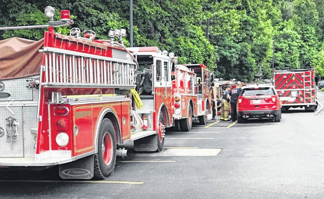 Firefighters from Portsmouth and several neighboring communities were working since roughly Friday to supply Southern Ohio Medical Center with water as the city's water shortage continued. That effort was to come to an end early Thursday. The county EMA reported the mission to support SOMC was handed off to the State of Ohio Fire Response Plan, pulling in fire tanker and pumper reserves from across Ohio.