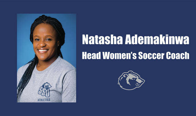 Shawnee State's Natasha Ademakinwa as the fourth women's soccer coach in program history in an official press release that was sent out on Thursday afternoon.