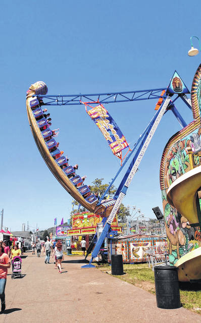 The Scioto County Fair opens August 6.