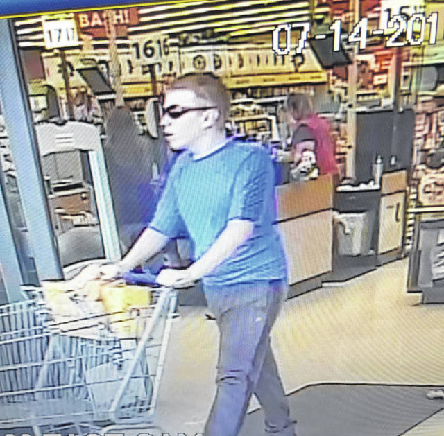 Police need help identifying this man, who they believe assaulted two juveniles in Kroger's restroom on Saturday.