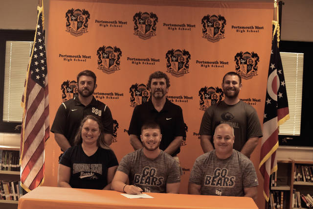 2018 West graduate Marty Knittel, who played baseball for four years under Chris Rapp, signed with Shawnee State on Monday evening in West Portsmouth. Knittel is expected to play at pitcher and third base for SSU.