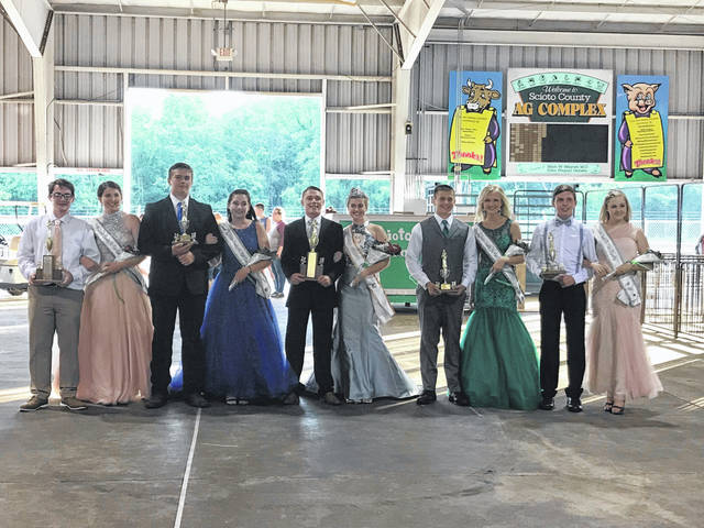 The 2018 Scioto County Fair Queen and her court.