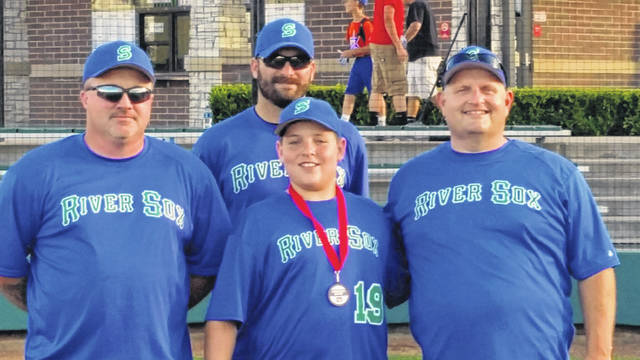 Coaches for the River Socks and home run derby champ Tate Queen (not pictured Norm Brooks).